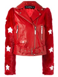 Filles A Papa 'Charley' Jacket Red