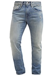 Frame Denim L'homme Straight Leg Jeans Brice Canyon Blue Denim