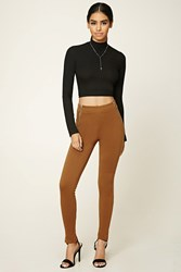 Forever 21 Skinny Zippered Pants