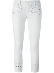 Michael Michael Kors Embellished Cropped Jeans