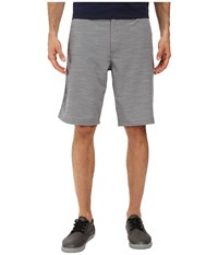 Travis Mathew Pipe Shorts Dress Blues Micro Chip Men's Clothing Gray