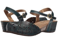 Spring Step Livvy Teal Women's Shoes Blue