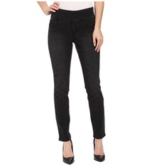 Jag Jeans Lanna Pull On Slim Patterned Denim In Tiger Black Tiger Black Women's Jeans Multi