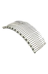 Colette Malouf Crystal Embellished Wire Hair Comb