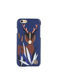 Tory Burch Deer Silicone Iphone 6 Case Royal Navy