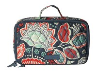 Vera Bradley Blush Brush Makeup Case Nomadic Floral Cosmetic Case Multi