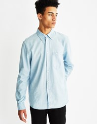 Nudie Jeans Stanley Aqua Chambray Shirt