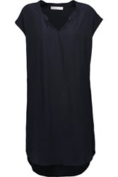 Kain Label Bianca Crepe Mini Dress Midnight Blue