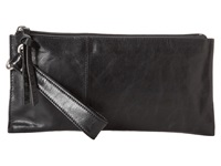 Hobo Vida Black Vintage Leather Clutch Handbags