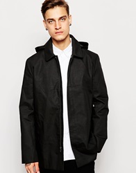 Standard Issue Exclusive Hooded Mac Black