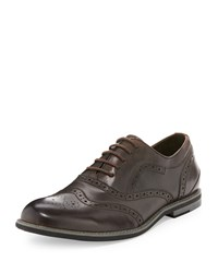 Joe's Jeans Joe's Trail Wing Tip Leather Oxford Brown