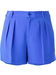 Polo Ralph Lauren Pleated Shorts Blue
