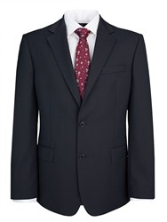 Paul Costelloe Blue Plain Single Breasted Suit Jacket