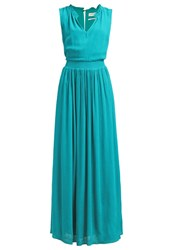Naf Naf Maxi Dress Emeraude Turquoise