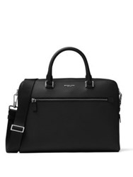 Michael Kors Harrison Leather Briefcase Black