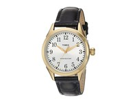 Timex Briarwood Terrace Croco Pattern Leather Strap Black Gold Tone Silver Tone Watches