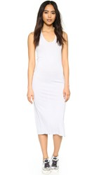 Cotton Citizen The Mykonos Midi Dress Silver Stone