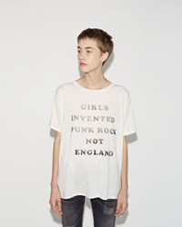 R 13 Kim Gordon Boy Tee Ecru