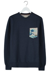 Revolution Sweatshirt Navy Dark Blue