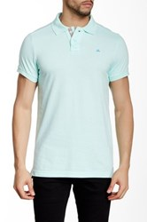 Micros Tailor Fit Short Sleeve Polo Green