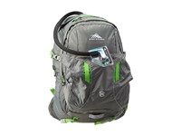 High Sierra Riptide 25L Hydration Pack Charcoal Kelly Backpack Bags Multi