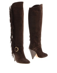 Annarita N. Boots Dark Brown
