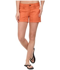 Royal Robbins Ranger Twill Short Persimmon Women's Shorts Orange