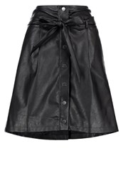 Morgan Julie Aline Skirt Noir Black