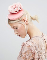 Asos Pretty Occasion Flower Fascinator Headband Pink