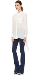 Maiyet Caftan Button Up Shirt Off White