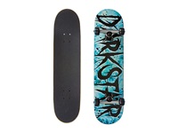 Darkstar Wrecked Complete Blue Tiedye Skateboards Sports Equipment Black