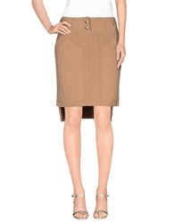 Jo No Fui Skirts Mini Skirts Women Camel