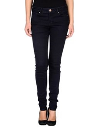 Naf Naf Denim Pants Dark Blue