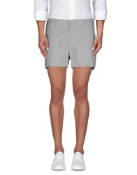 Marc By Marc Jacobs Trousers Bermuda Shorts Men Grey