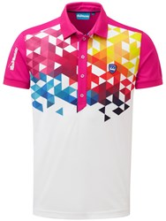 Bunker Mentality Cmax Geo Polo Pink