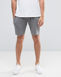 Selected Sweat Shorts Grey Black