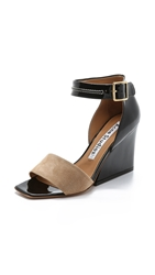 Acne Studios Haze Sandals Black Beige