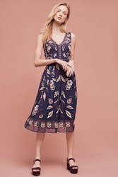 Anthropologie Alicante Dress Navy