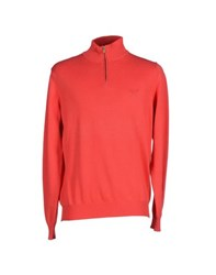 Henry Cotton's Knitwear Jumpers Men Red