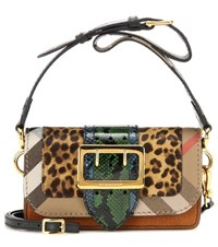 Burberry London England Mytheresa.Com Exclusive The Patchwork Snakeskin And Leather Crossbody Bag Multicoloured