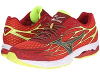 Mizuno Wave Catalyst Chinese Red Black Safety Yellow Men's Running Shoes