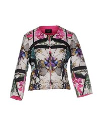 Class Roberto Cavalli Coats And Jackets Jackets Women White