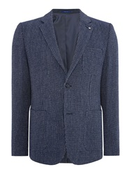 Peter Werth Workhouse Button Blazer Navy