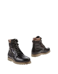 Thompson Ankle Boots Dark Green