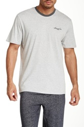 Kenneth Cole Solid Crew Neck Tee Gray