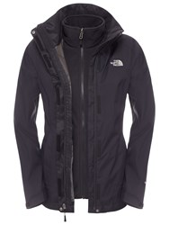 The North Face Evolve Ii Triclimate 3 In 1 Waterproof Women's Jacket Black