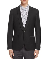 Hugo Arian Shawl Collar Slim Fit Tuxedo Jacket Black
