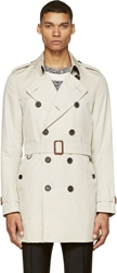 Burberry Beige Kenzington Trench Coat