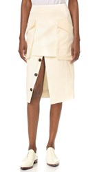Camilla And Marc Soft Tailoring Skirt Warm Creme