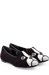 Marc By Marc Jacobs Suede Leather Puppy Loafer